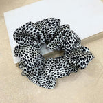 Adisa Pattern Scrunchie In White