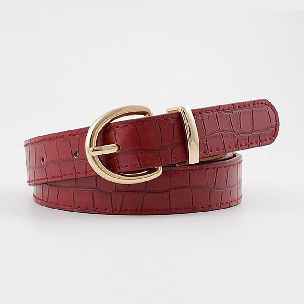 Remi Belt In Red