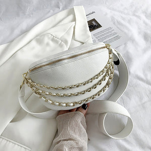 Charli Bum Bag In White