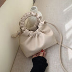 Keisha Ruffle Bag In Sand
