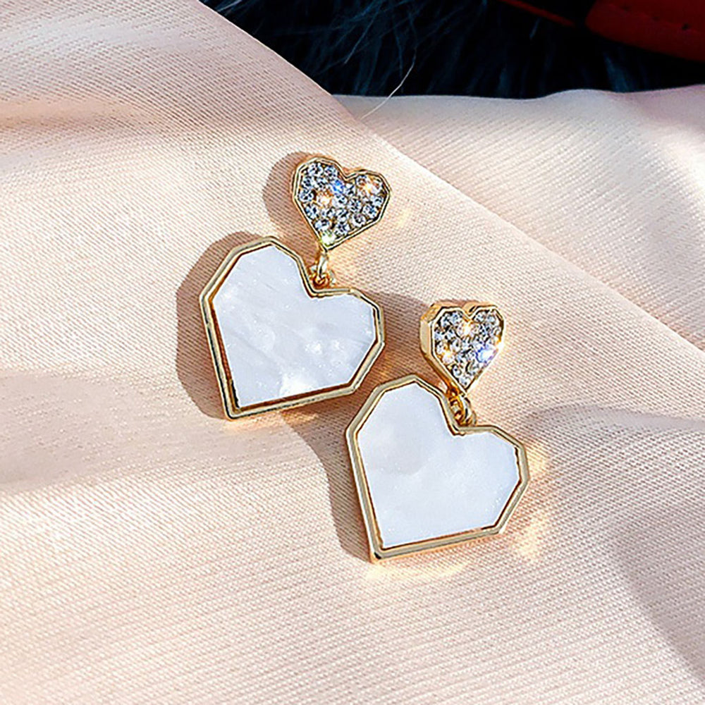 Limited Edition Amora Heart Earrings