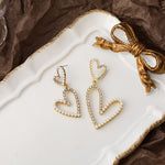 Limited Edition Juliet Heart Earrings