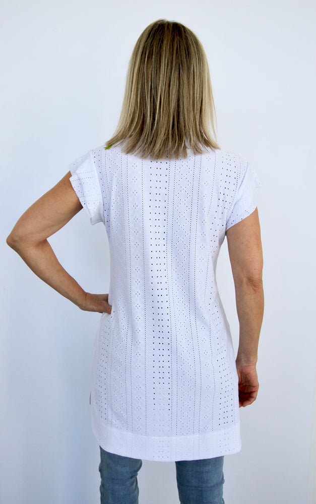 White Eyelet Tunic (PRE-ORDER the next batch)
