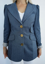 The Super Cool Denim Blue Blazer