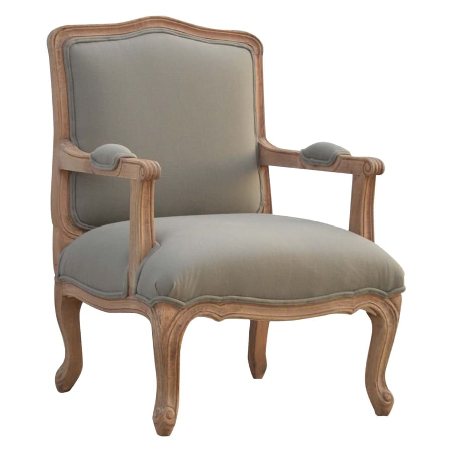 IN077 Armchairs Boutique Artisan Furniture 100% Solid Wood