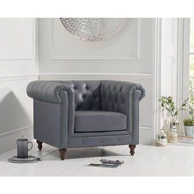 PT30265 Armchairs Mark Harris Furniture - Montrose Grey