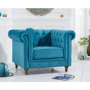 PT30363 Armchairs Mark Harris Furniture - Montrose Teal