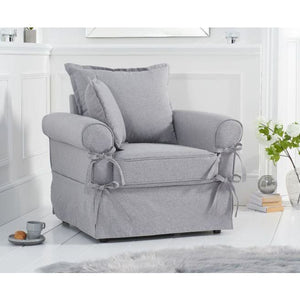 PT33062 Armchairs Mark Harris Furniture - Celia Grey Linen