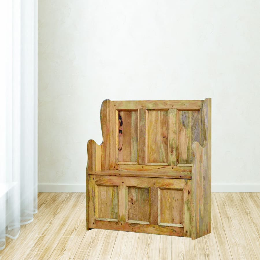 IN097 Benches Boutique Artisan Furniture 100% Solid Wood
