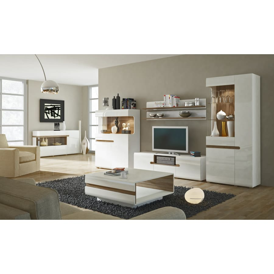 4020144P Cabinets Furniture To Go - Chelsea - Tall Glazed