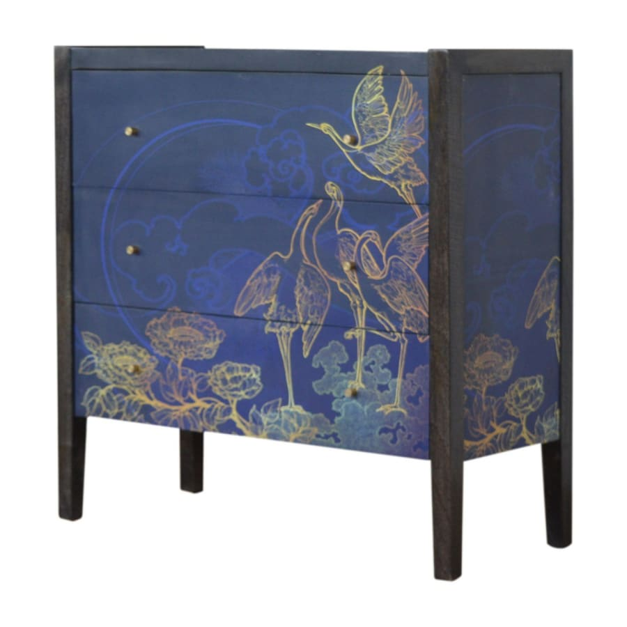 IN1169 Chest Of Drawers Stunning Boutique Artisan Furniture