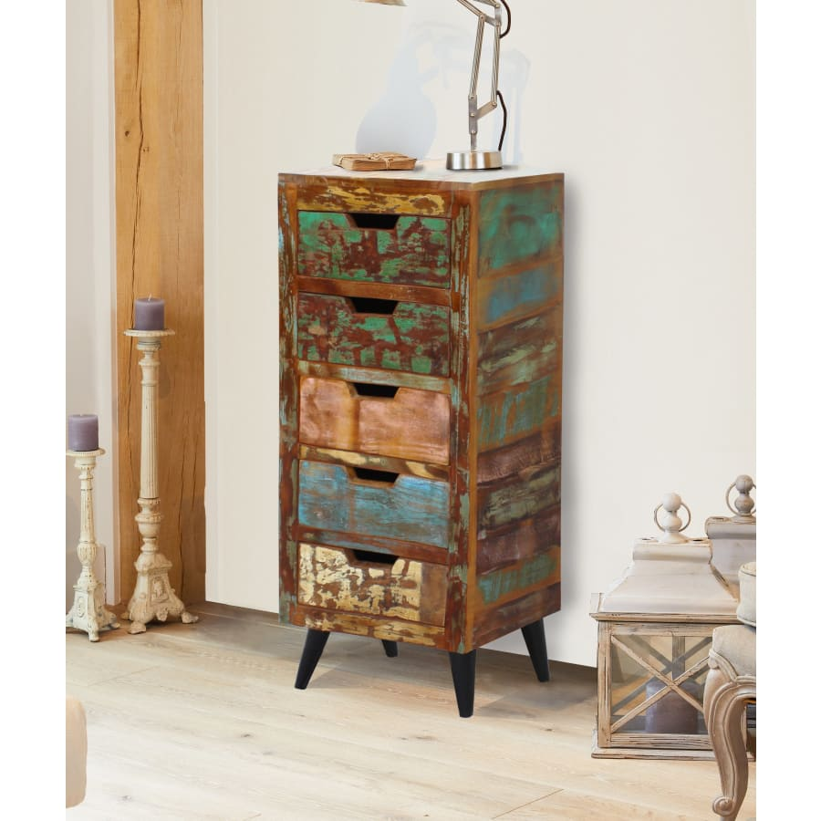 IRS12A chest-of-drawers Baumhaus - Coastal Chic 5 Drawer