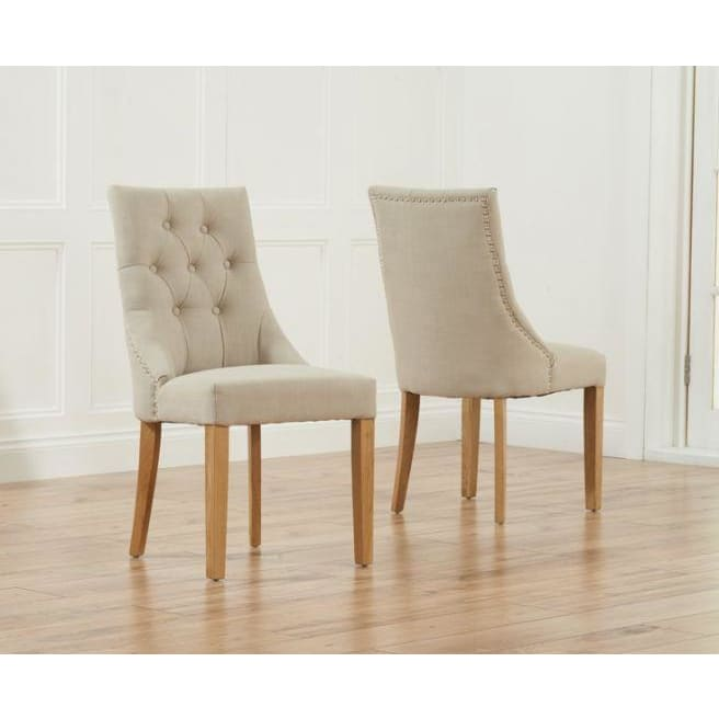 PT31534 Dining Chairs Mark Harris Furniture - Pailin Beige
