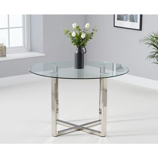 PT30075 Dining Tables Mark Harris Furniture - Vidro 120cm