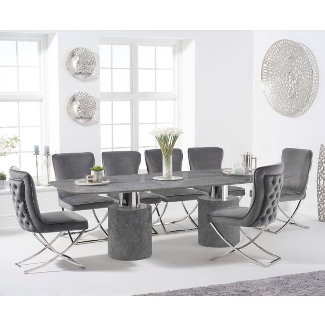 PT33091 Dining Tables Mark Harris Furniture - Adeline 260cm