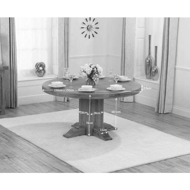 PT37773 Dining Tables Mark Harris Furniture - Turin Round