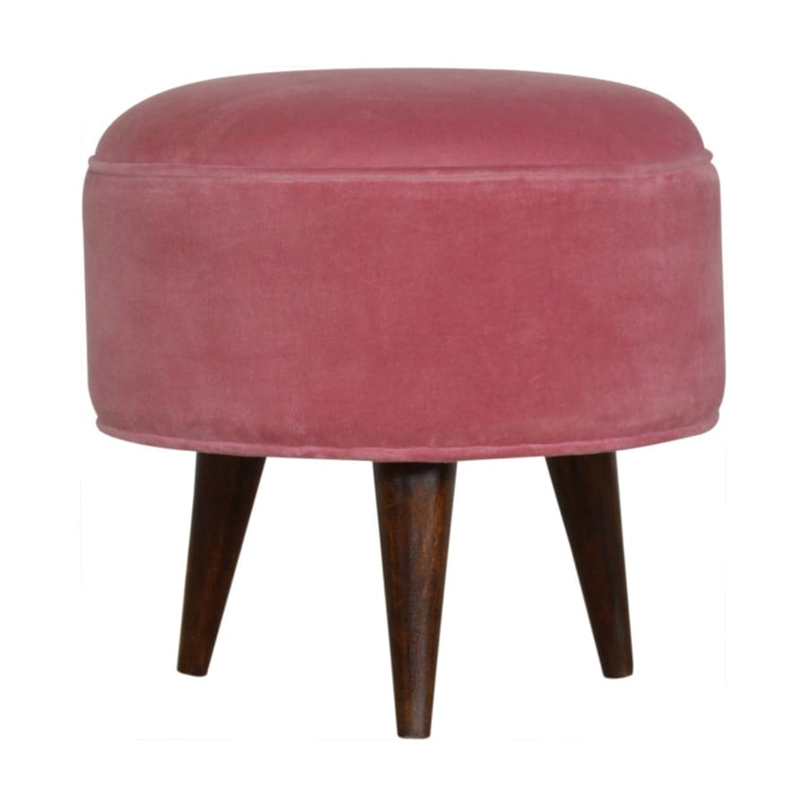 IN822 Footstools Boutique Artisan Furniture Luxurious