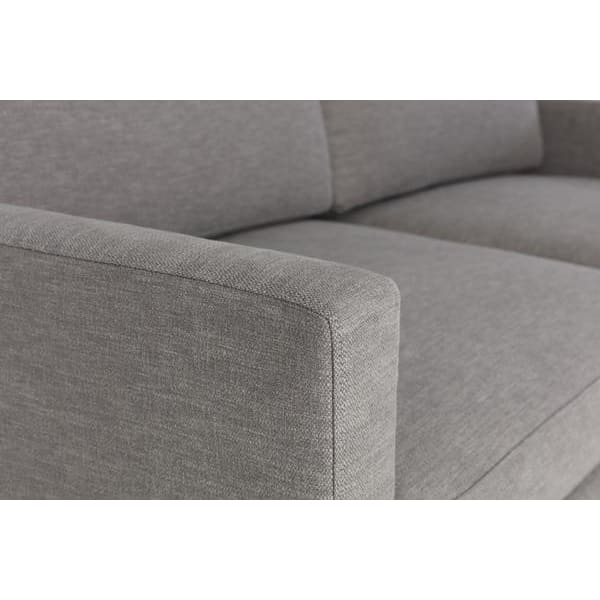 Model 01 Linen 2 Seater Sofa - Shadow Sofas Swyft Home -