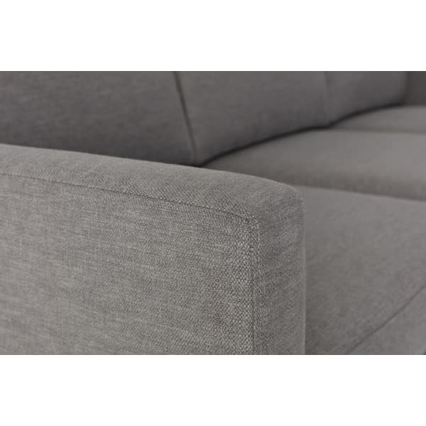 Model 01 Linen 3 Seater Sofa - Shadow Sofas Swyft Home -