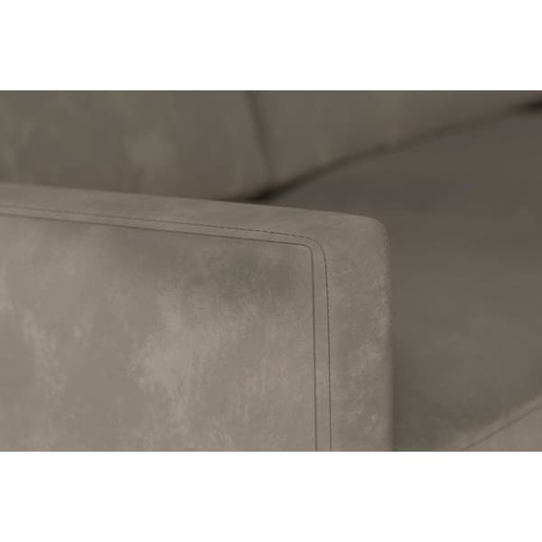 Model 01 Velvet 3 Seater Sofa - Elephant Sofas Swyft Home -