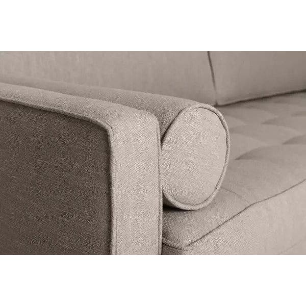 Model 02 Linen 2 Seater Sofa - Pumice Sofas Swyft Home -