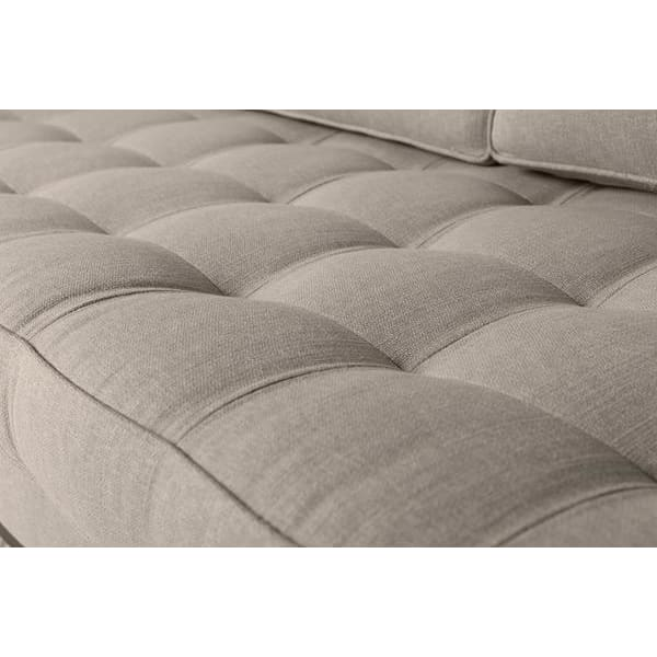 Model 02 Linen 3 Seater Sofa - Pumice Sofas Swyft Home -