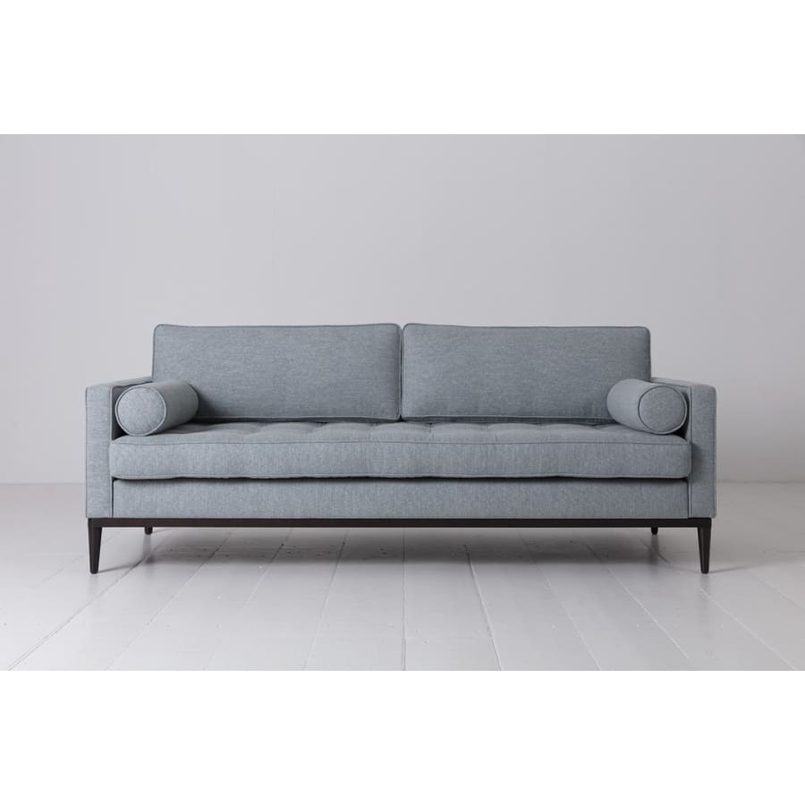 Model 02 Linen 3 Seater Sofa - Seaglass Sofas Swyft Home -