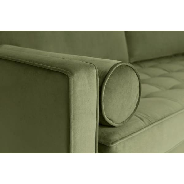 Model 02 Velvet 2 Seater Sofa - Vine Sofas Swyft Home -