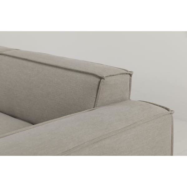 Model 03 Linen Modular 2 Seater Right Chaise - Pumice Sofas