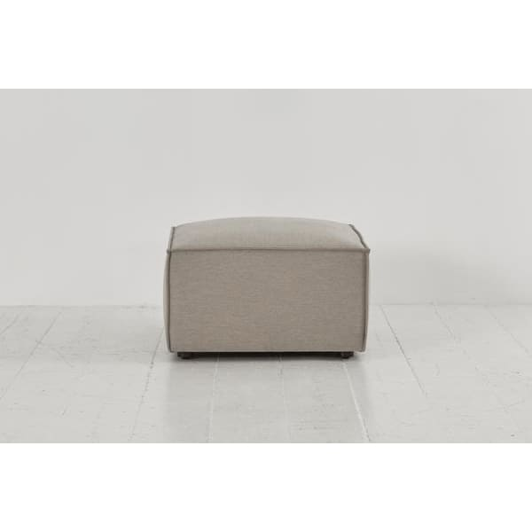 Model 03 Linen Ottoman - Pumice Sofas Swyft Home - Model 03