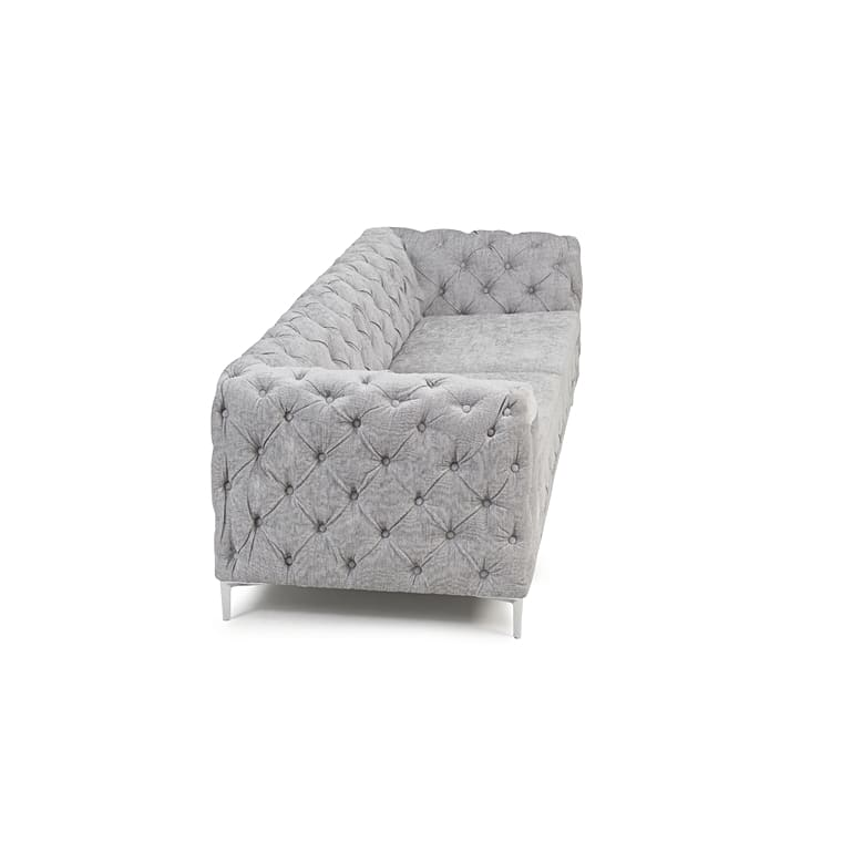 PT32630 Sofas Mark Harris Furniture - Alegra Grey Plush 3