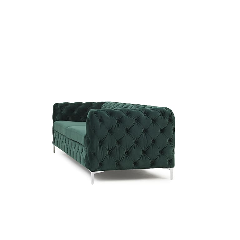 PT32632 Sofas Mark Harris Furniture - Alegra Green Plush 3