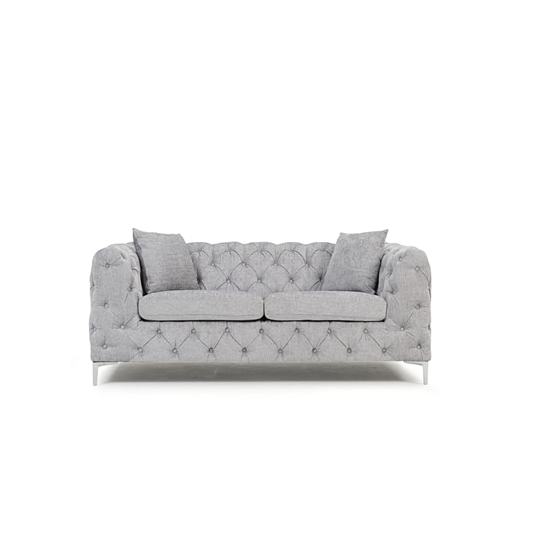 PT32633 Sofas Mark Harris Furniture - Alegra Grey Plush 2