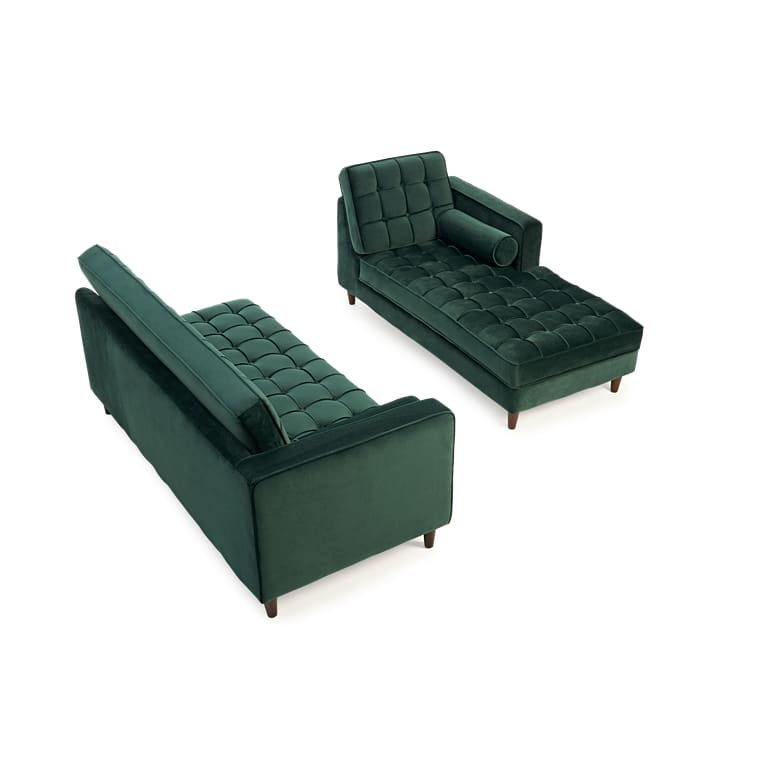 PT34113 Sofas Mark Harris Furniture - Anneliese Green Velvet