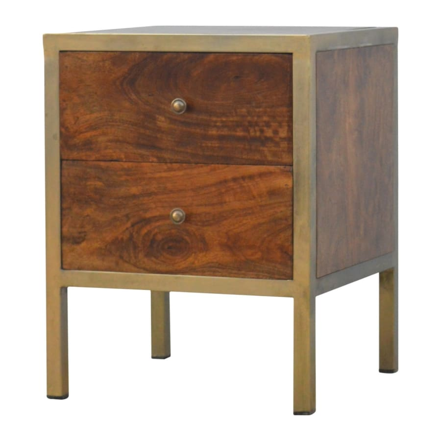 IN264 Tables Stunning Boutique Artisan 100% Solid Mango Wood