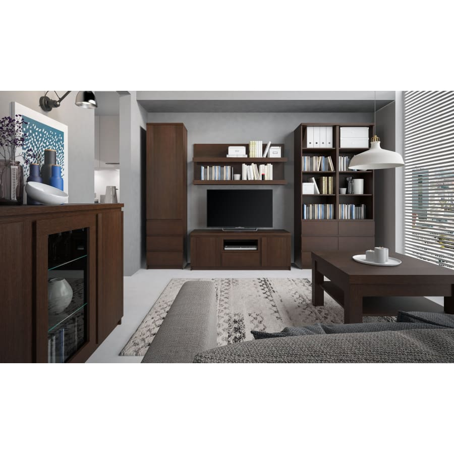 4145143P TV Stands/Units Furniture To Go - Pello - 2 Door 1