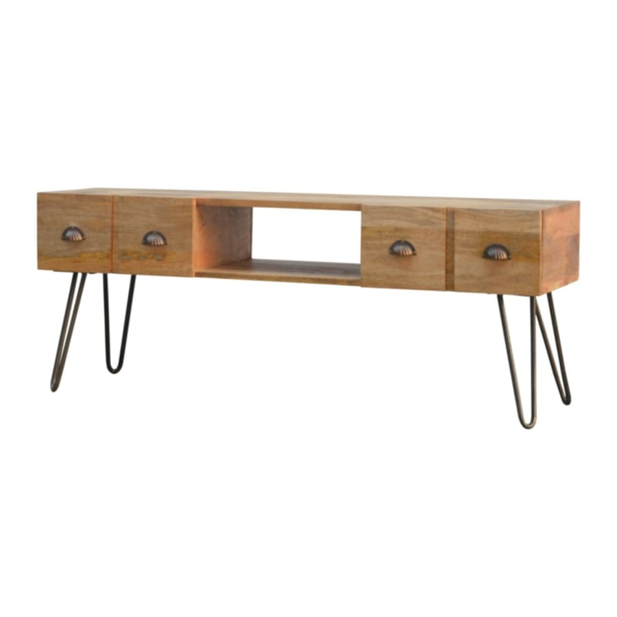 IN235 TV Stands/Units Boutique Artisan Furniture 100% Solid