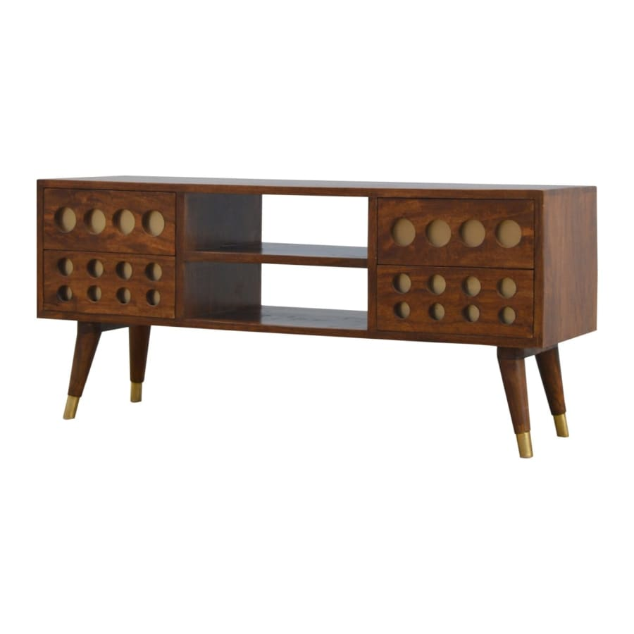 IN371 TV Stands/Units Boutique Artisan Furniture 100% Solid