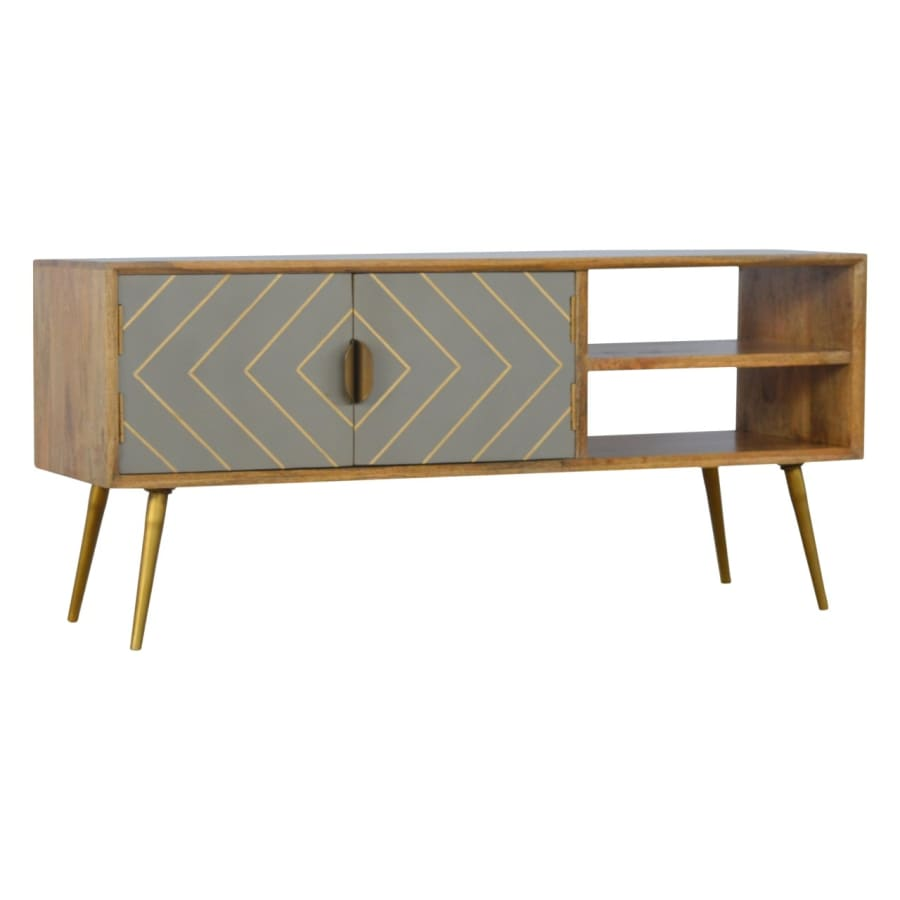 IN373 TV Stands/Units Boutique Artisan Furniture 100% Solid
