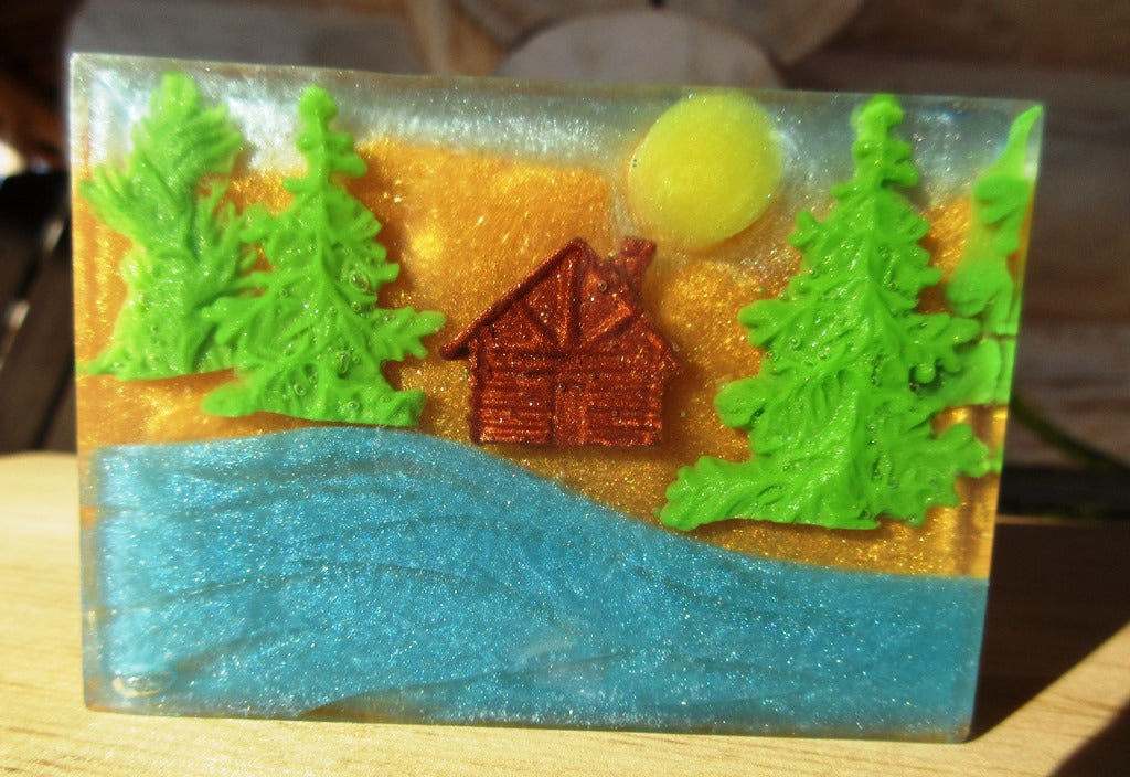 Into the Woods, Handmade glycerin soap inspired by nature