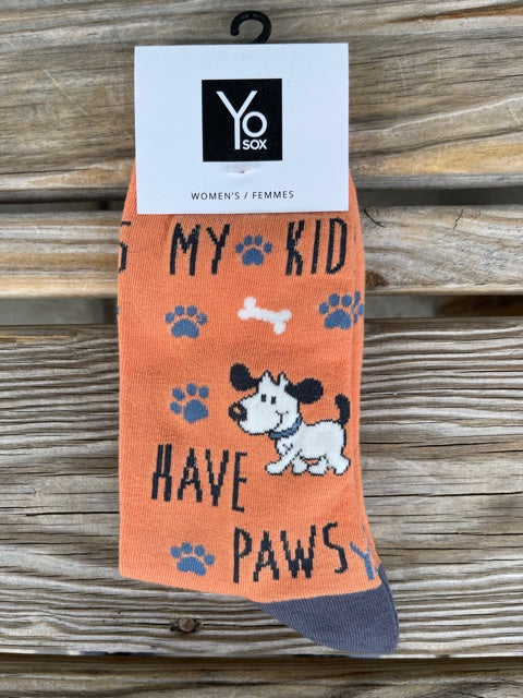 My Kids Have 4 Paws Women's Sock