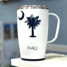 Load image into Gallery viewer, Insulated Mug Palmetto Tree and Crescent Moon