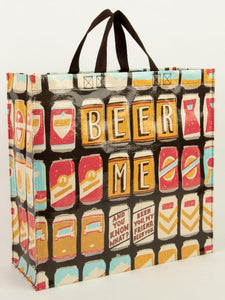 Beer Me Shopper Tote