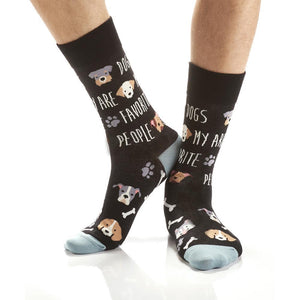Dogs Are My Farvorite People Socks