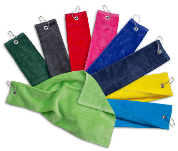 Wholesale Tri-Fold Golf Towels
