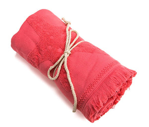 Red Color Beach Towels