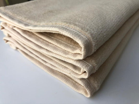 Deluxe Premium Quality Cotton Fingertip Towels, Cream Color