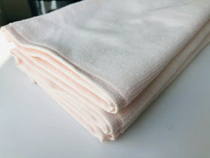 Deluxe Premium Quality Cotton Fingertip Towels, Light Pink Color