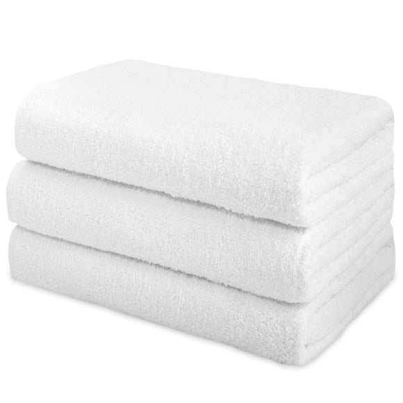 wholesale White Color Terry Bath Towels in bulk 28