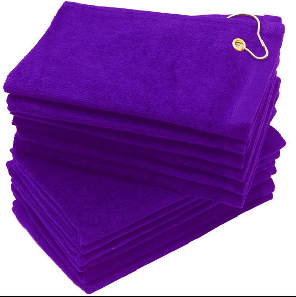 12 Pack Purple Color Velour 11
